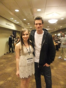 My daughter with Branden Rickman winner of So You Think You Want To Be A Supermodel